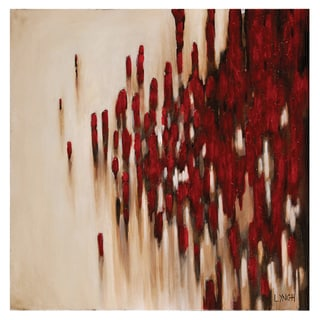 Charlene Lynch 'Passing By' Hand-painted Canvas Art