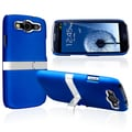 BasAcc Blue Snap-on Rubber Coated Case for Samsung Galaxy SIII / S3