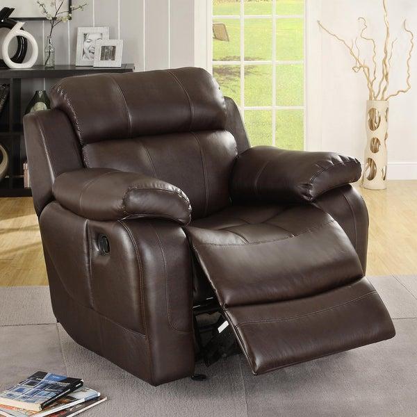 Eland Brown Rocker Recliner Chair