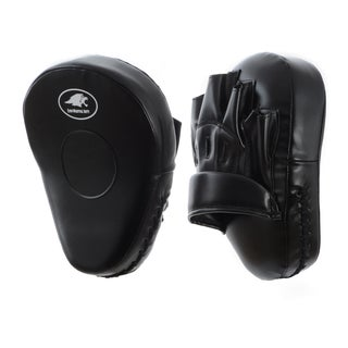 Lion Martial Arts Black Hand Mitts