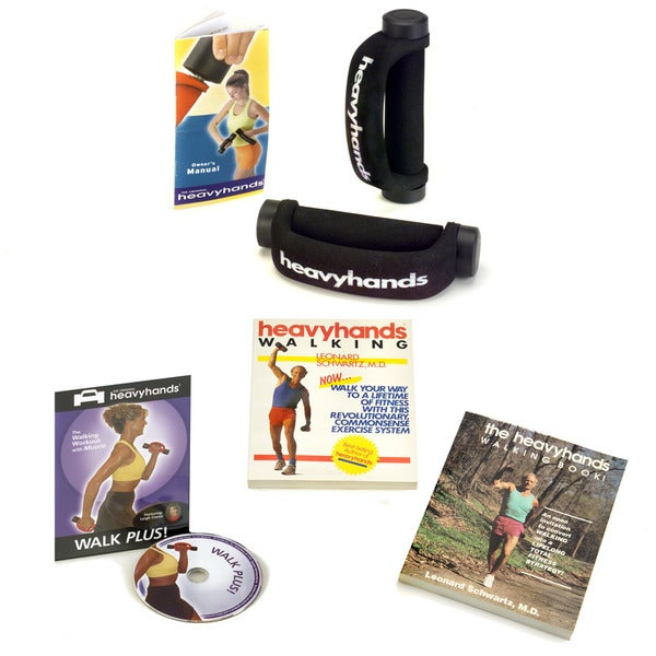 Heavyhands Walk Plus Fitness DVD Pack