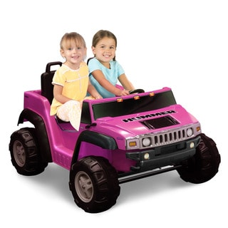 Hummer H2 Pink Two Seater