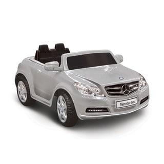Mercedes Benz E550 Silver 1-seater Riding Toy