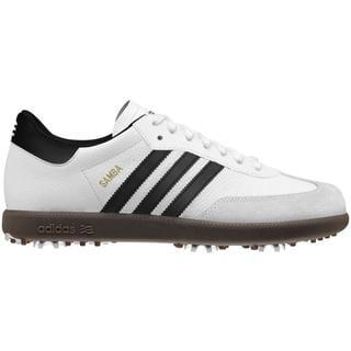 Mens Adidas Samba Golf White Golf Shoes