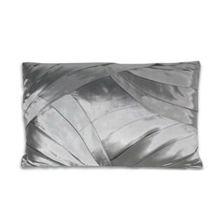 Marlo Lorenz Delaine Silk 12x20-inch Pillow