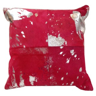Marlo Lorenz Metallic Square 16-inch Decorative Pillow