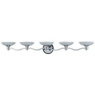 Triarch International 5-light Chrome Vanity Light