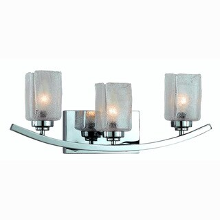 Triarch International 3-light Chrome Bath/ Vanity