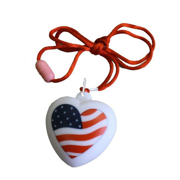 Encore Select American Light-up Bubble Heart Necklace