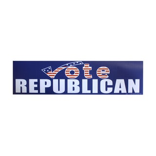 Encore Select 'Vote Republican' Bumper Sticker