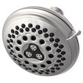 Waterpik Brushed Nickel 7-setting Showerhead
