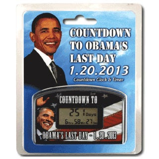 Big Mouth Toys 'Countdown to Obama's Last Day' Timer