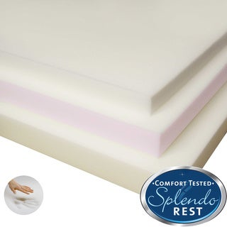 Splendorest 2-inch Slab Memory Foam Topper