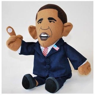 Big Mouth Toys 'Pootin' Tootin'' President Obama Doll