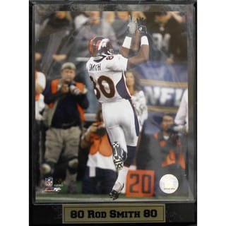 Encore Select Denver Broncos Rod Smith Photograph Plaque (9 x 12)