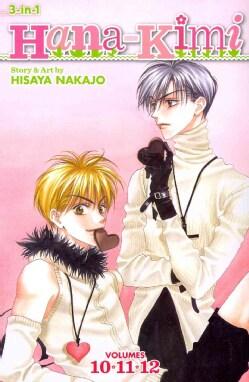 Hana-Kimi 10-11-12: 3-in-1 Edition (Paperback)