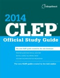 CLEP Official Study Guide 2014 (Paperback)
