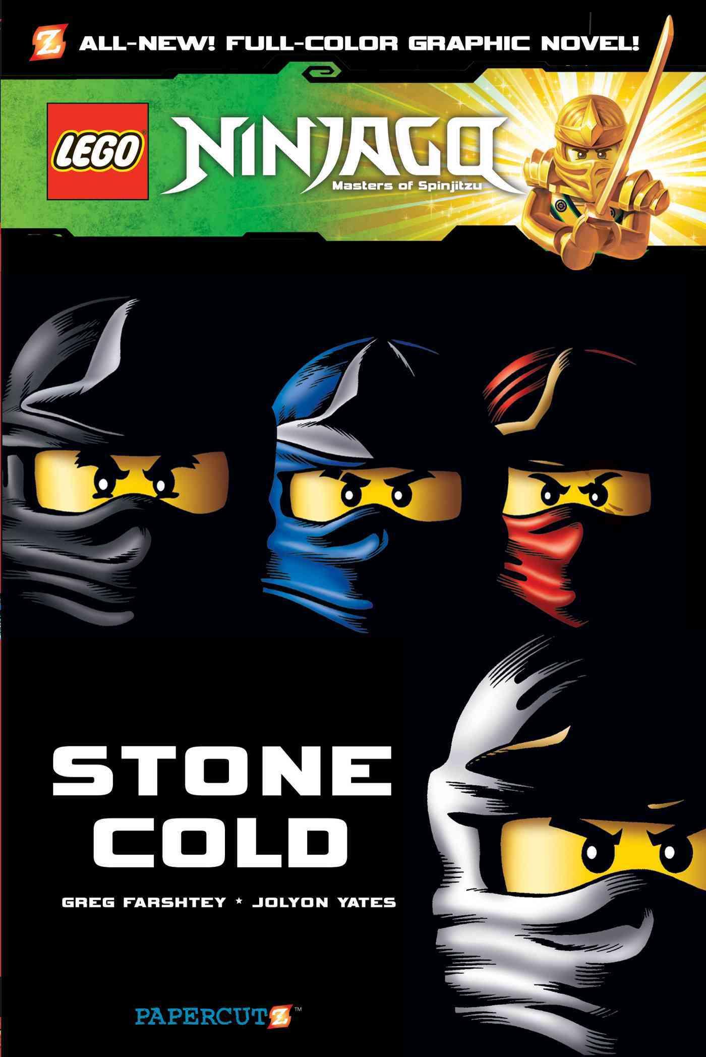 Lego Ninjago Masters of Spinjitzu 7: Stone Cold (Paperback)