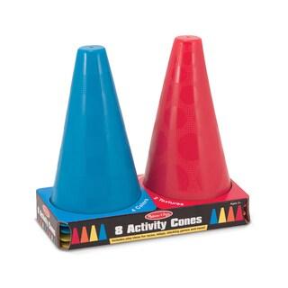 Melissa & Doug 8 Activity Cones