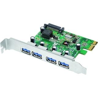 SIIG 4-Port USB 3.0 PCIe