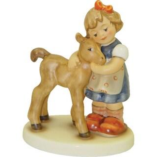 M I Hummel Precious Pony Porcelain Statue