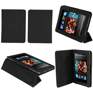 Tri-Fold Amazon Kindle Fire HD Black Stand Case