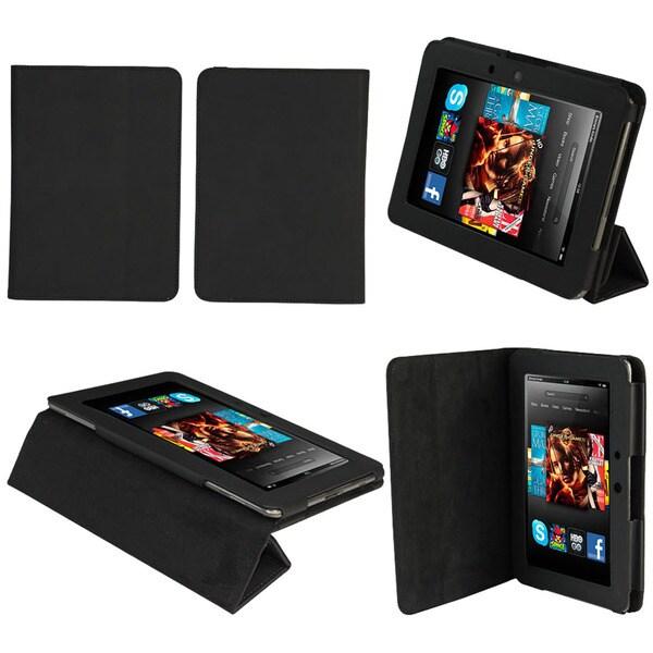 Tri-Fold Amazon Kindle Fire HD Black Stand Case