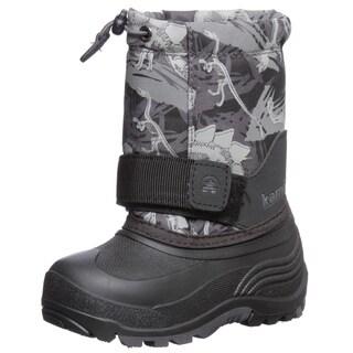 Kamik Kids 'Rocket 2' Boy's Dinosaur Snow Boots