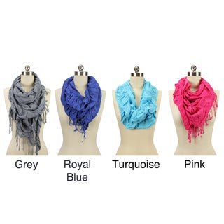 Ruffle Net Scarf (India)