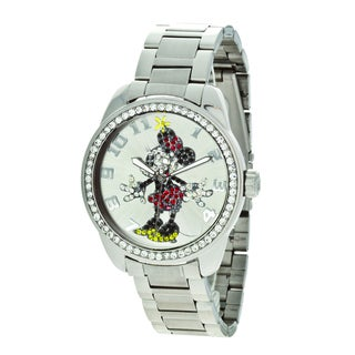 Disney Ingersoll Minnie Mouse Diamante Watch