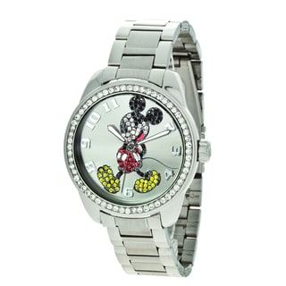 Disney Ingersoll Women's Mickey Mouse Diamante Watch