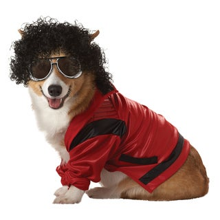 Pop King Pup-A-Razzi Pet Costume