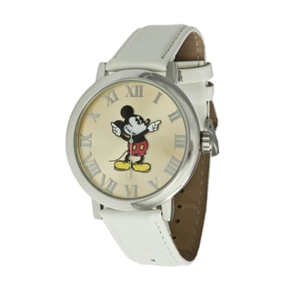 Disney Ingersoll Women's White Mickey Mouse Watch