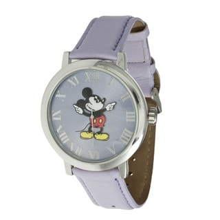Disney Ingersoll Women's Lilac Mickey Mouse Watch