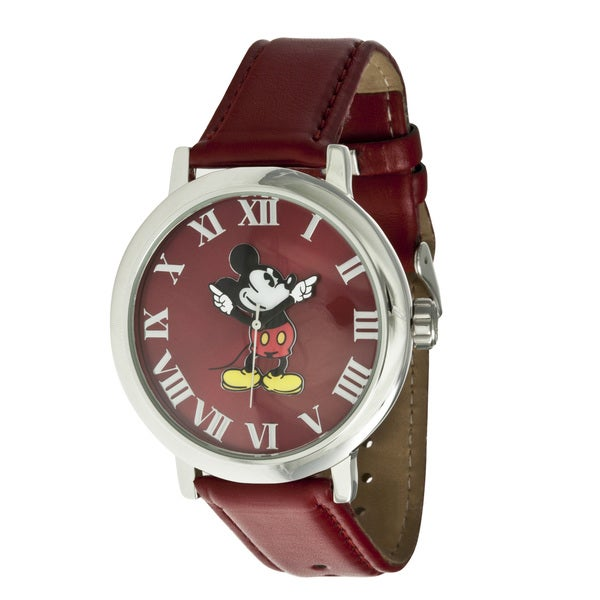 Disney Ingersoll Women's Red Mickey Mouse Watch