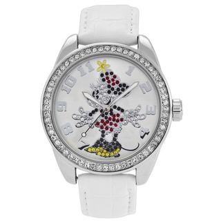 Disney Ingersoll Women's Minnie Mouse Diamante Watch