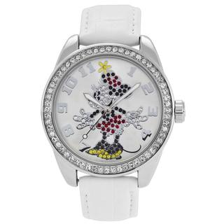 Disney Ingersoll Women's Minnie Mouse Diamante Watch
