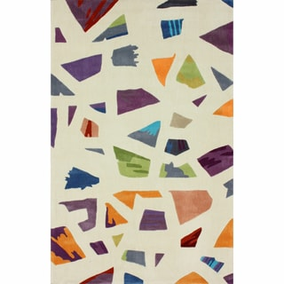 nuLOOM Handmade Kid's Modern Abstract Multi Rug