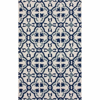 nuLOOM Handmade Marrakesh Trellis Indoor/ Outdoor Rug (9' x 12')