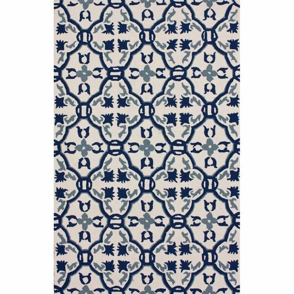 nuLOOM Handmade Marrakesh Trellis Indoor/ Outdoor Rug (9' x 12')