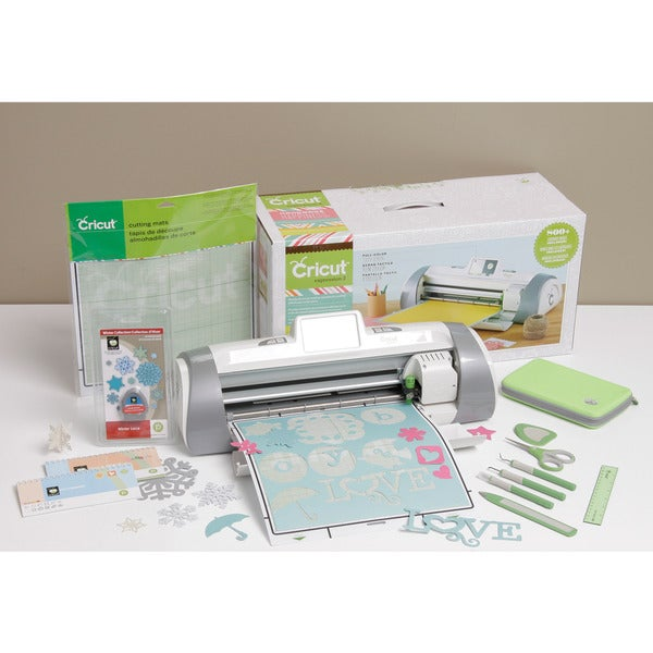 Cricut Expression 2 Holiday Die Cutting Bundle w/bonus Cartridge & Tool Kit
