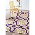 nuLOOM Handmade Marrakesh Natural Wool Rug