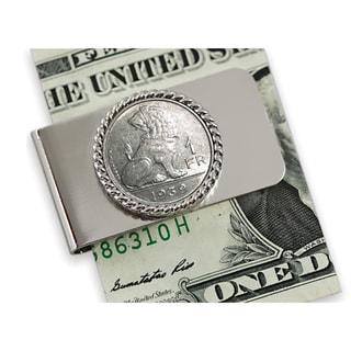 American Coin Treasures Belgium Coin Moneyclip
