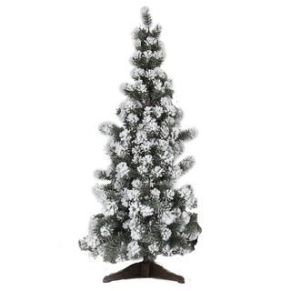 Good Tidings Snow Angel Pine 36-inch Tabletop Seasonal Tree