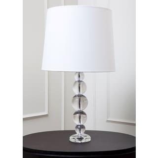 Abbyson Living Caprise Crystal Table Lamp