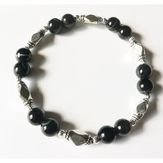 'Dark of the Moon' Stretch Bracelet