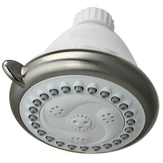Waterpik EcoFlow White 6-setting Showerhead