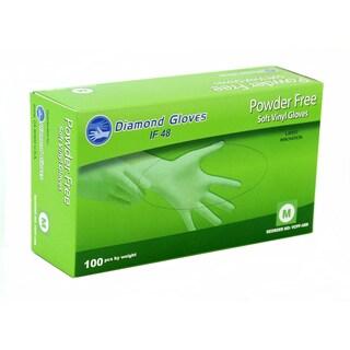 Advance Vinyl Clear Multi-Purpose Powder-free Gloves (Case of 1,000)