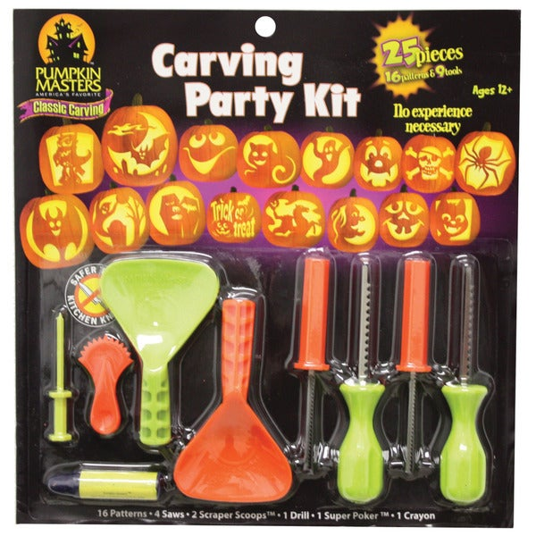 Halloween Carving Party Kit