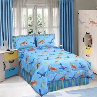 Veratex Flying High 4-piece Comforter Set